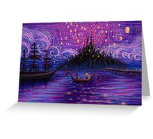 The Lantern Scene Greeting Card