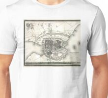 Plan of Copenhagen - 1844 Unisex T-Shirt