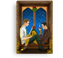 Hogwarts Klaine Canvas Print