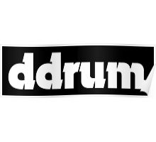 ddrum. Poster