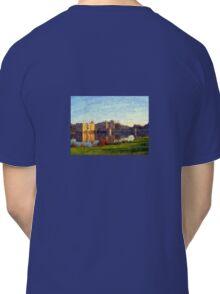 Leeds Castle , Kent , a painted scene   Classic T-Shirt