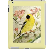 A Goldfinch Spring iPad Case/Skin