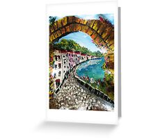 Along The Water Front.............. Greeting Card