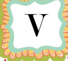 V Sticker