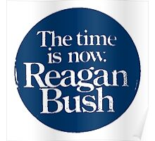 REAGAN/BUSH Poster