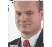 Office man iPad Case/Skin