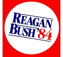 REAGAN/BUSH 1984 Photographic Print