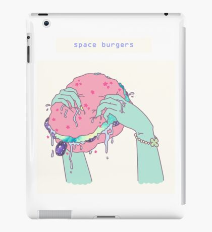 space burgers iPad Case/Skin