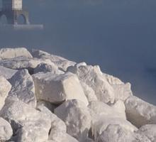 White Rocks and Port Washington Lighthouse Sticker