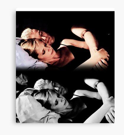 Buffy and Spike - Buffy the Vampire Slayer Canvas Print