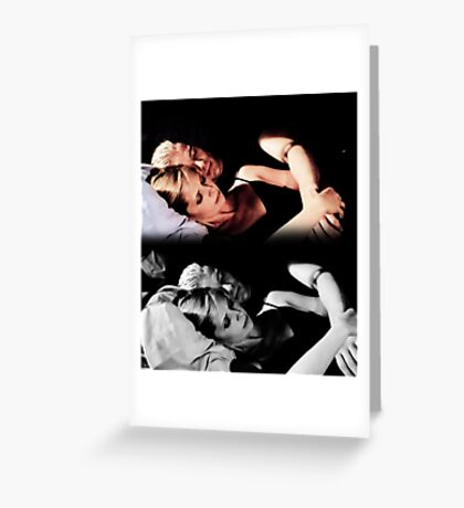 Buffy and Spike - Buffy the Vampire Slayer Greeting Card