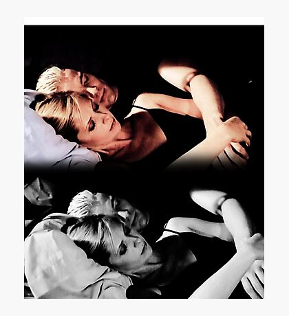 Buffy and Spike - Buffy the Vampire Slayer Photographic Print