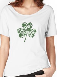 St Patrick's Day Irish Shamrock Clover Women's Relaxed Fit T-Shirt
