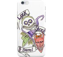 Lock, Shock & Barrel  iPhone Case/Skin