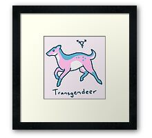 Original Transgendeer Framed Print