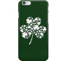 St Patrick's Day Irish Shamrock Clover iPhone Case/Skin