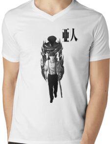 Satou Mens V-Neck T-Shirt