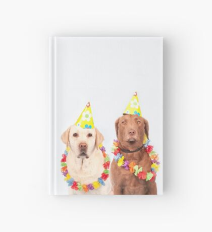 Party pups Hardcover Journal