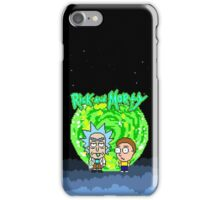 8-bit Universe Rick and Morty iPhone Case/Skin