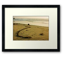 Ocean Gift -  Framed Print
