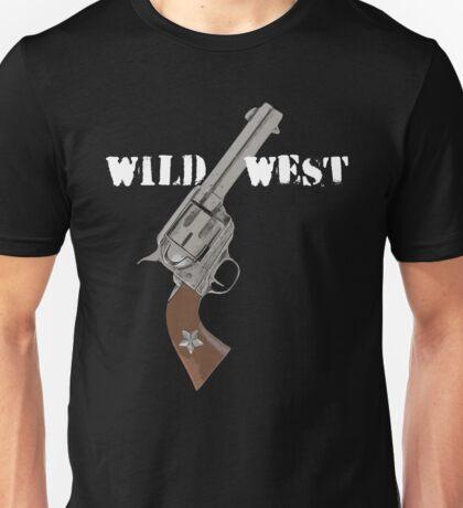 Wild West and an old gun Unisex T-Shirt