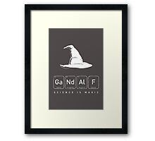 Gandalf's Magical Science Framed Print