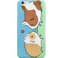 Guinea-pig Sweethearts #2 iPhone Case/Skin