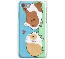 Guinea-pig Sweethearts #2 iPhone Case/Skin