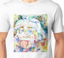 ALBERT EINSTEIN - watercolor portrait.2 Unisex T-Shirt