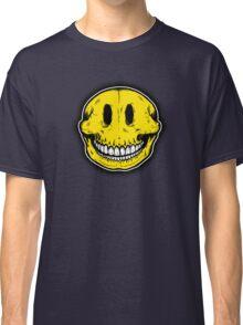 Smiley Skull Sketch Classic T-Shirt