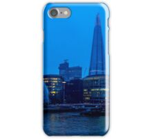 Early Morning River Thames View iPhone Case/Skin