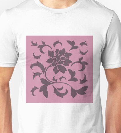 Oriental Flower - Cherry-Chocolate and Strawberry Unisex T-Shirt