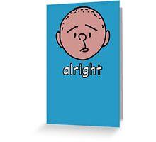 Karl Greeting Card
