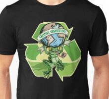Gone Green Earth Day Frog Unisex T-Shirt