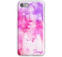 Taeyeon Rainbow iPhone Case/Skin
