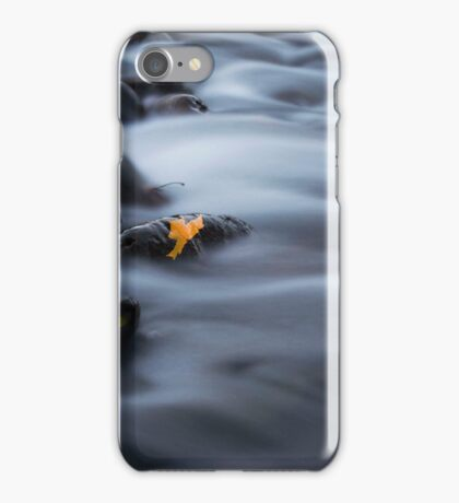 A Touch of Fall at Steel Creek iPhone Case/Skin