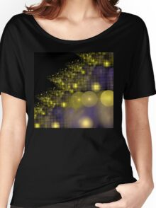 Festive Gold Tree Women's Relaxed Fit T-Shirt