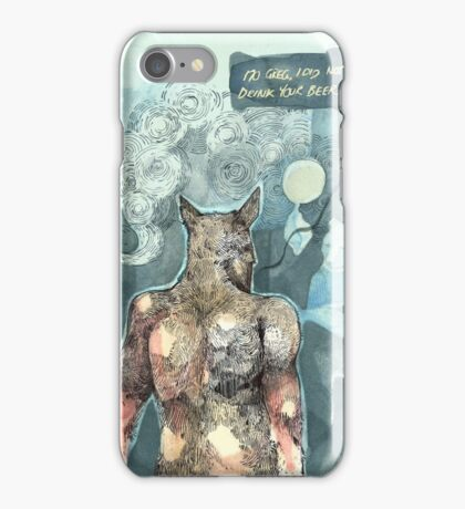 Flat Meeting iPhone Case/Skin