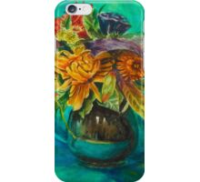 Vibrant Autumn Flowers iPhone Case/Skin