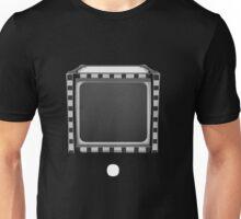 Glitch bag furniture black and white stripes Unisex T-Shirt