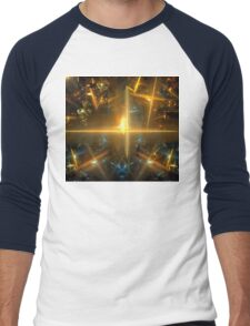 Solar Magnetar Men's Baseball ¾ T-Shirt