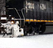 Illinois Central Locomotive 6204  Sticker