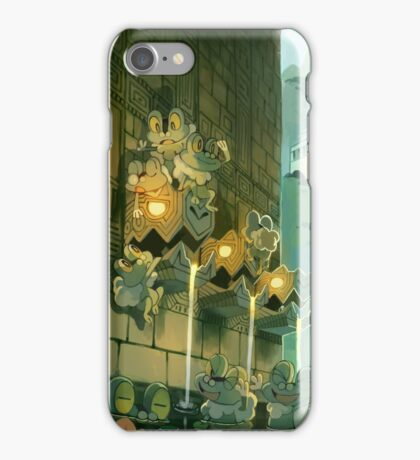 Ancient Fountains iPhone Case/Skin
