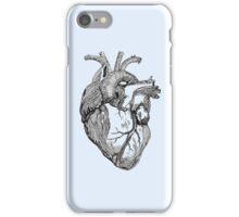 An anatomical heart iPhone Case/Skin