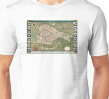 Plan of Venice - 1740 Unisex T-Shirt