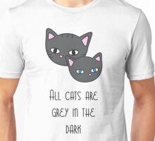 Grey cats Unisex T-Shirt