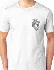 An anatomical heart Unisex T-Shirt
