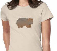 Wombat  Womens Fitted T-Shirt
