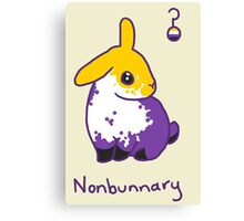 Original Nonbunnary Canvas Print