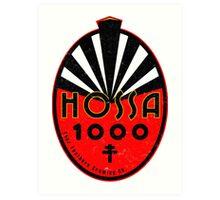 Hossa 1000 Art Print